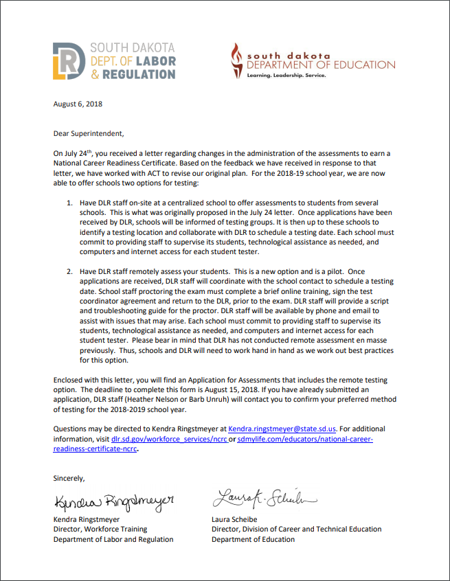 National Career Readiness Certificate